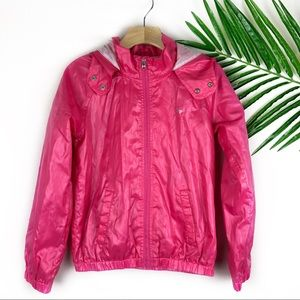 Gap Kids Girls Pink Raincoat Size M 8-9